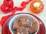 Chocolate Burfi - Using Milk Powder