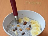 Coconut Milk Chia Seed Pudding / Chia Seed Pudding with Coconut Milk