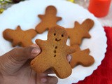 Eggless Ginger Bread Cookies - Christmas Special