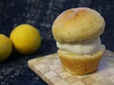 Brioche Ice Cream Sandwiches with Meyer Lemon Cream Ice Cream