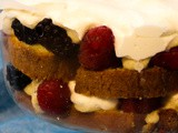 Chai Spice Trifle with Mixed Berries
