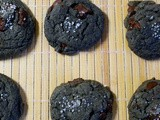 Salted Black Tahini Chocolate Chip Cookies