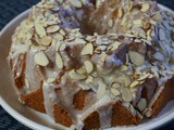 Ultralemony Lemon Bundt Cake with Almond Glaze