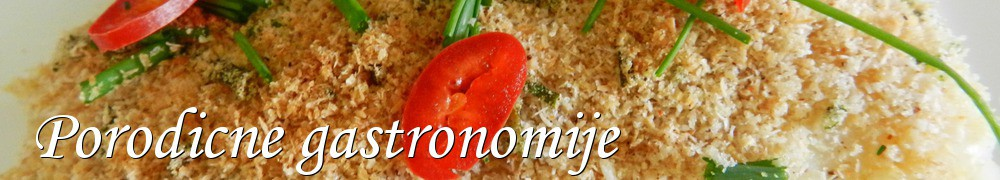 Very Good Recipes - Porodicne gastronomije
