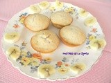 Magdalenas de Banana(Banana Muffins)Gluten-Free Option Available