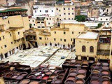 The Chouara Tannery in Fez, Morocco