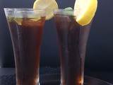 Iced ginger lemon tea