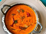 Menthe gojju / fenugreek curry