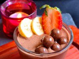 Nutella chocolate coconut mousse