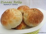 Dinner Rolls/ Indian White Pav