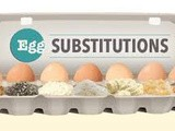 Few Egg Substitutions in Baking