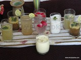 Indian Drinks For Party: Pundina Masala Lassi, Shikanji, Rose Sherbat and Jal Jeera