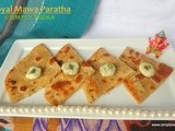 Royal Mawa Paratha