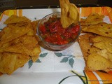 Tortilla Chips with Tomato Salsa/ Corn Chips