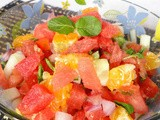 Watermelon Orange Salsa