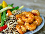 20 Minute Honey Garlic Shrimp + Weekly Menu