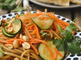 20 Minute Sweet and Spicy Noodles + Weekly Menu