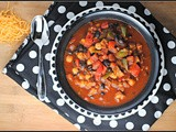 3rd Annual Chili Contest: Entry #5 – Spicy Black Bean Veggie Burger Chili