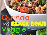 4th Annual Chili Contest: Entry #1 – Quinoa and Black Bean Veggie Chili