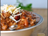 4th Annual Chili Contest: Entry #7 – Pumpkin Chili + Weekly Menu