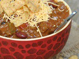 9th Annual Chili Contest: Entry #2 – Beef, Chorizo, and Bean Taco Chili + Weekly Menu
