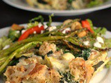 Artichoke and Spinach Strata + Weekly Menu