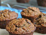 Banana-Bran Chocolate Chip Muffins