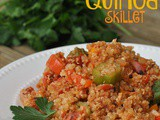 Cajun Chicken and Quinoa Skillet + Weekly Menu