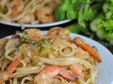 Cajun Shrimp Linguine + Weekly Menu