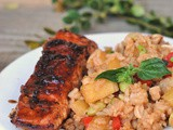 Caramelized Teriyaki Salmon + Weekly Menu {+ Apologies!!}
