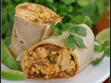 Chorizo and Bell Pepper Breakfast Burritos