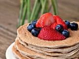 Cinnamon Whole Grain Power Pancakes