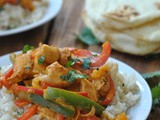 Coconut Curry Chicken + Weekly Menu