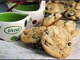 Cranberry White Chocolate Chip Cookies + Weekly Menu
