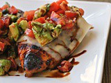 Grilled California Avocado Chicken