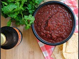Grilled Cherry Salsa + Weekly Menu