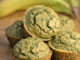 Kale-Banana Toddler Muffins