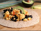 Meatless Monday: Black Bean Breakfast Burrito