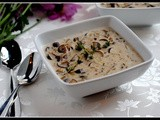 Meatless Monday: Cream of Mushroom Soup