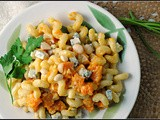 Meatless Monday: Creamy Butternut, Blue Cheese, and Walnut Cavatappi
