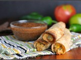 Meatless Monday: Creamy Corn and Pepper Taquitos