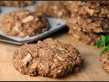Meatless Monday: Giant Whole Wheat Apple-Oat Breakfast Cookies