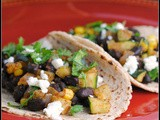 Meatless Monday: Zucchini and Black Bean Tacos