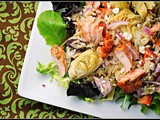 Mediterranean Salmon Salad + Weekly Menu
