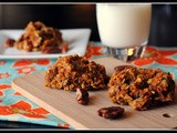 Mega Carrot Cake Breakfast Cookies {Vegan}