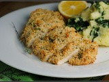 Mustard-Herb Panko Crusted Chicken Breasts