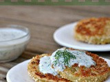 "Pickled ""Fried"" Green Tomatoes with Buttermilk-Herb Sauce + Weekly Menu"