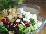 Pomegranate Orange Salad + Weekly Menu
