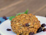 Pumpkin-Oat Breakfast Cookies