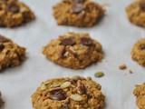 Pumpkin Oatmeal Chocolate Chip Cookies + Weekly Menu